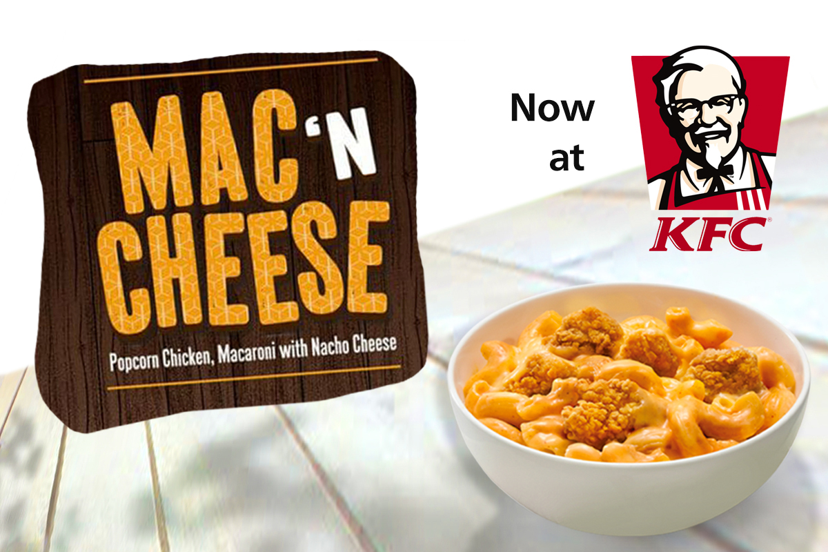 KFC's New Offering: All American Mac and Cheese Bowl!