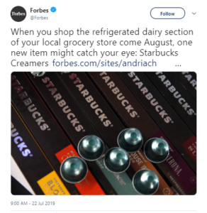 Tweet from Forbes