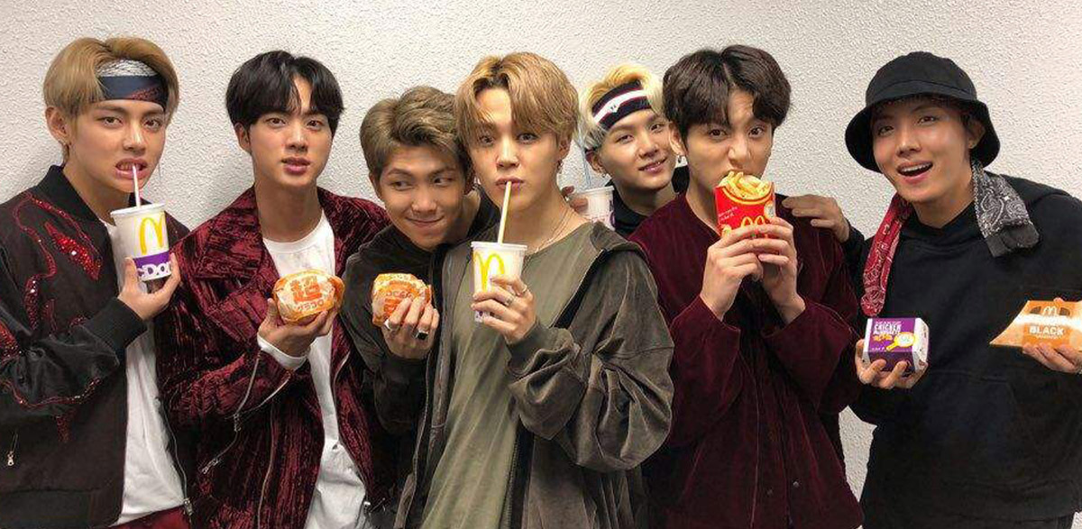 McDonald's Bringing BTS Meal Your Way in Collaboration with K-Pop Band