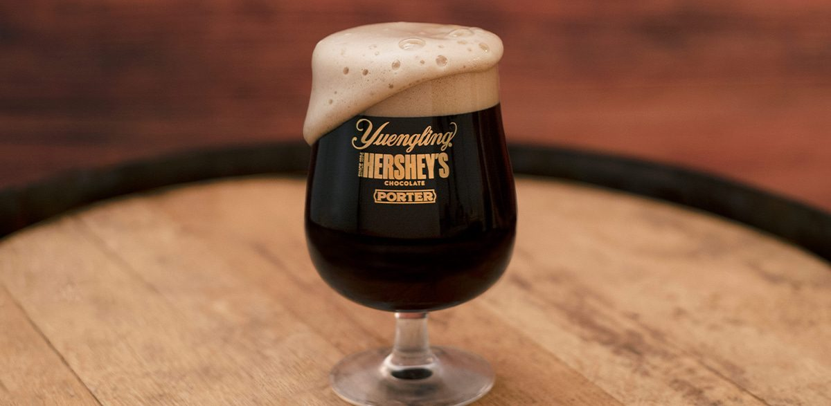 Hershey's and Yuengling's Chocolate Beer Sets the Tone for the Holidays